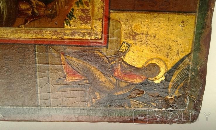 Икона Праздники с Воскресением, Страстями Господними. Ковчег, фото №10