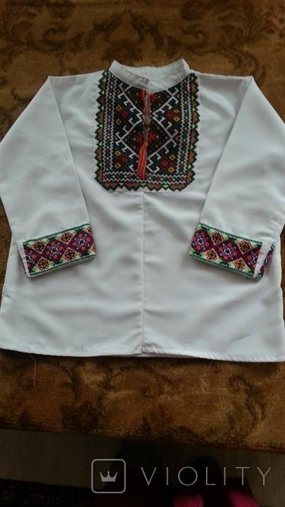 Рубашка вышитая, фото №2