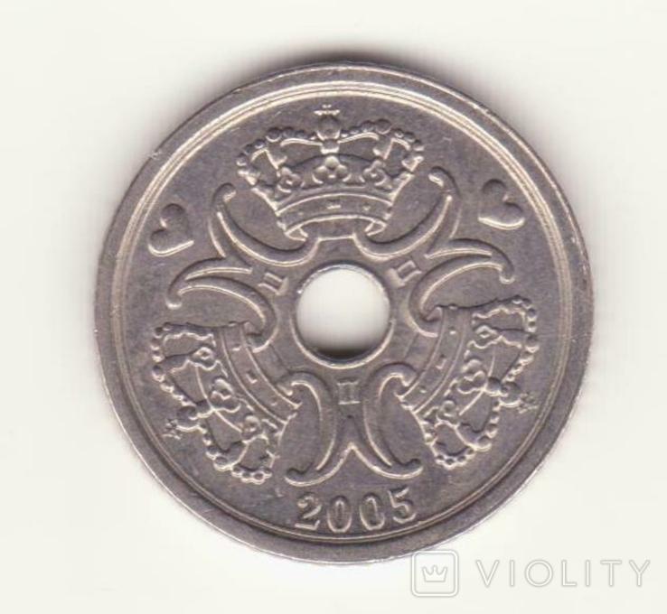 1 крона 2005 р., Данія, фото №2