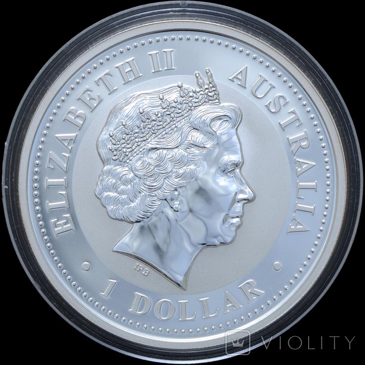 1 Доллар 2007 Кукабарра 1oz, Австралия Унция, фото №3