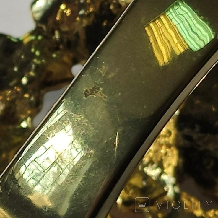 Жёсткий браслет в эмалях. Как новый. Всё целое., фото №11