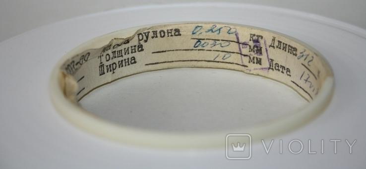 Фторопластовая лента 0,03 мм х 10 мм (СССР) 250 грамм, фото №5