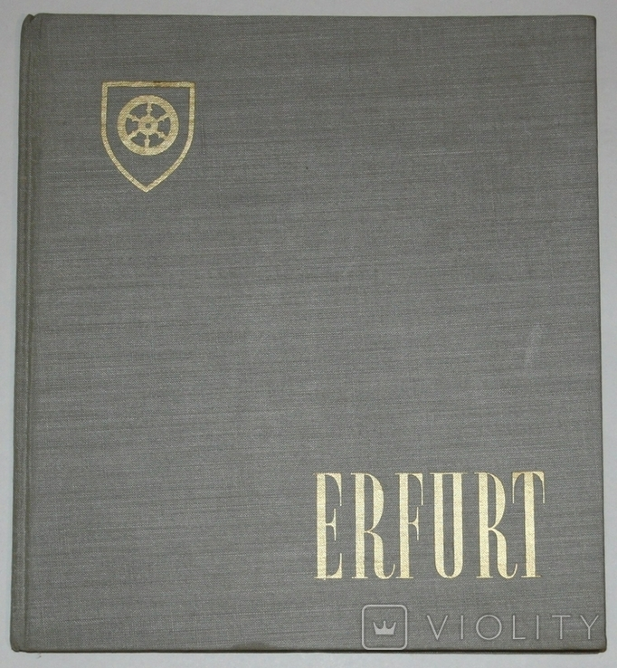 """Книга-путеводитель """"Эрфурт"""" (1961 г.) Германия, фото №2"""