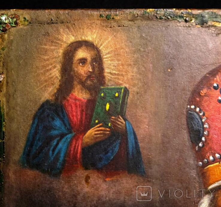 "Ікона ""Святий Миколай"", фото №3"