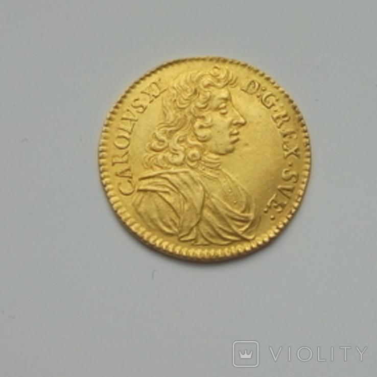 Дукат,Швеція,1686, фото №3
