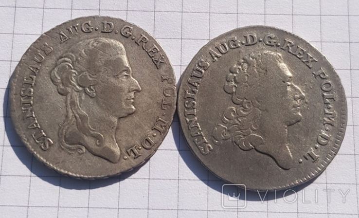 8 Грош 1776 і 1787, фото №2