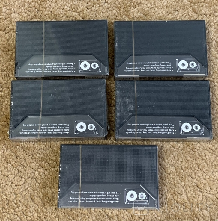Аудиокассеты 5 шт., фото №4