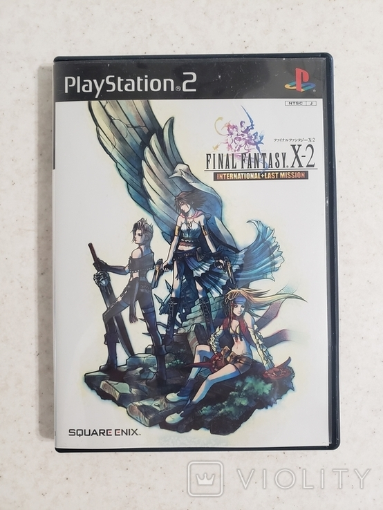 Final Fantasy X-2 International+Last mission (PS2, NTSCJ), фото №2