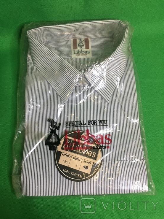 Рубашка СССР Libbas мужская новая, фото №2