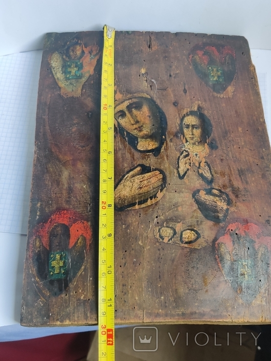 Икона Дева Мария и Младенец, фото №12