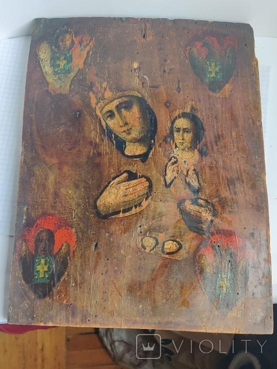 Икона Дева Мария и Младенец, фото №2