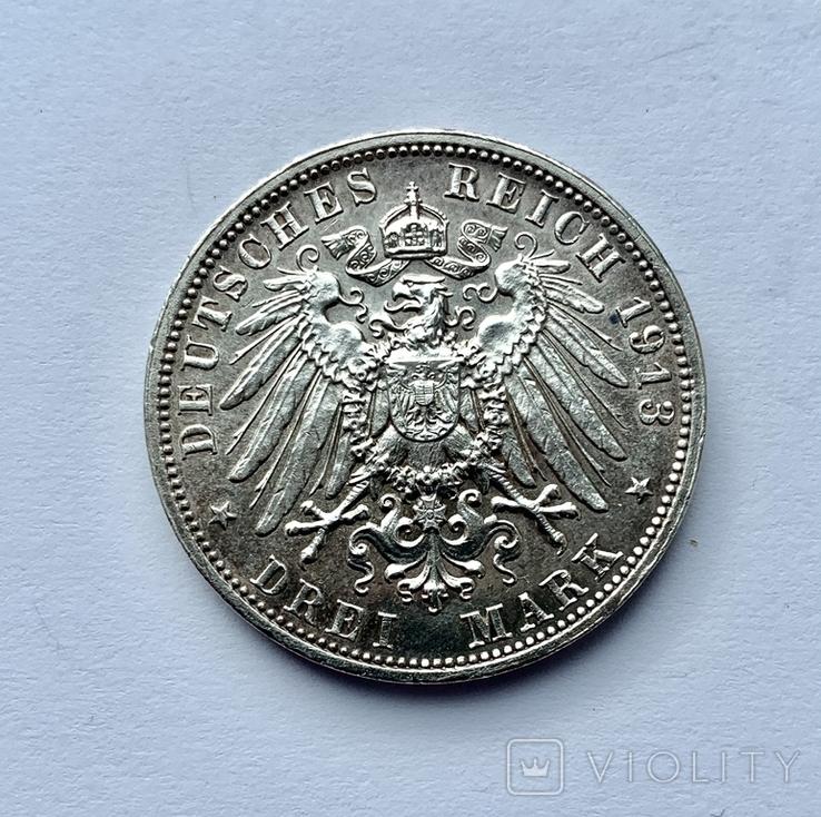 3 марки 1913 года Битва народов, фото №2