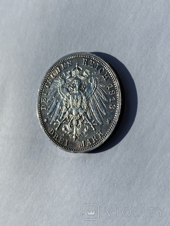 3 марки 1913 года Битва народов, фото №7