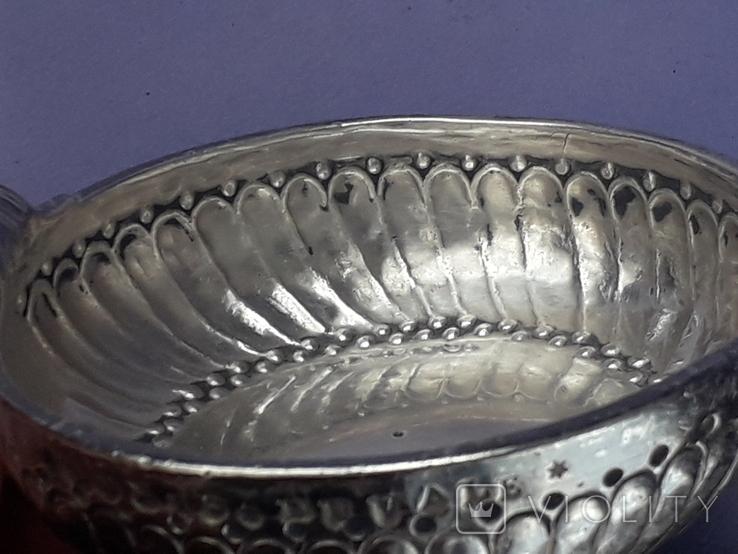 Чаша-тестер для дегустации вина, серебро, 120 гр., Франция, конец XVIII, фото №12
