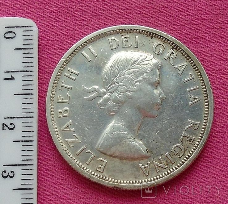 1 доллар Канада 1953 г., фото №2