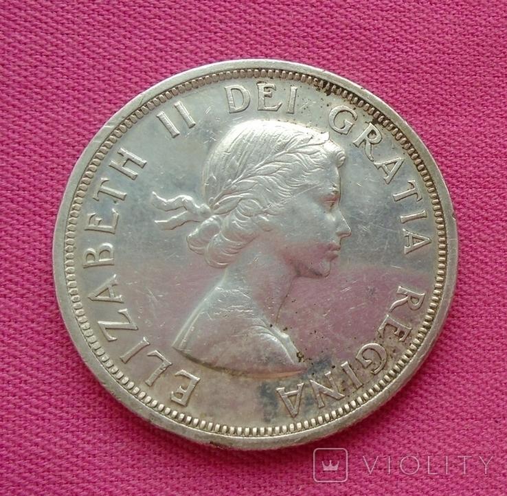 1 доллар Канада 1953 г., фото №6