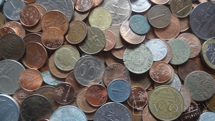 Мегалот. Только иностранные монеты. 573 штуки. без России, СССР, фото №3