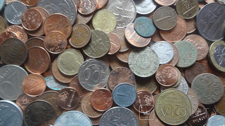 Мегалот. Только иностранные монеты. 573 штуки. без России, СССР, фото №4