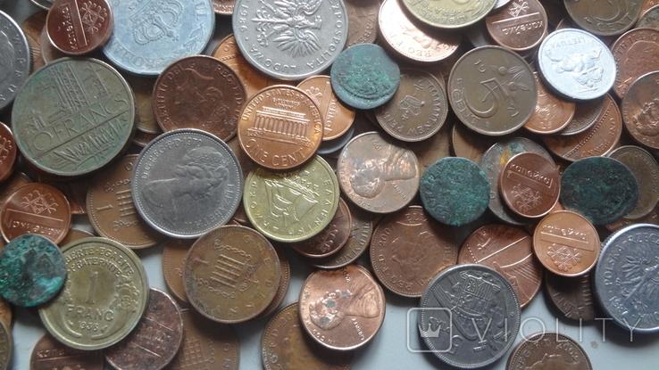 Мегалот. Только иностранные монеты. 573 штуки. без России, СССР, фото №6