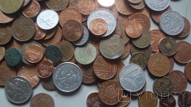 Мегалот. Только иностранные монеты. 573 штуки. без России, СССР, фото №12