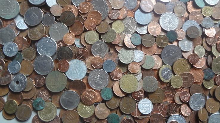 Мегалот. Только иностранные монеты. 573 штуки. без России, СССР, фото №13