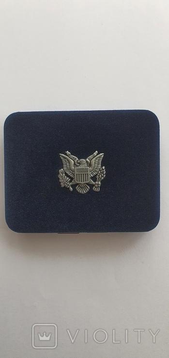 Серебрянная монета американский орёл 2016 W proof, фото №5