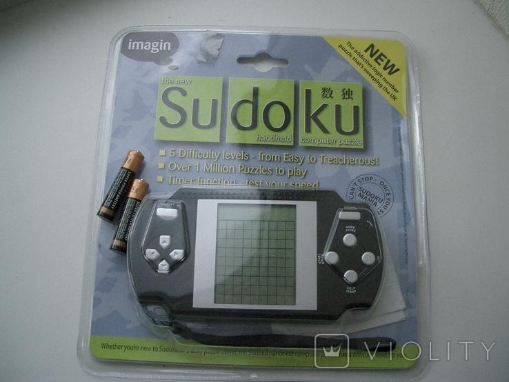 Рабочая Sudoku в упаковке,Англия, фото №2