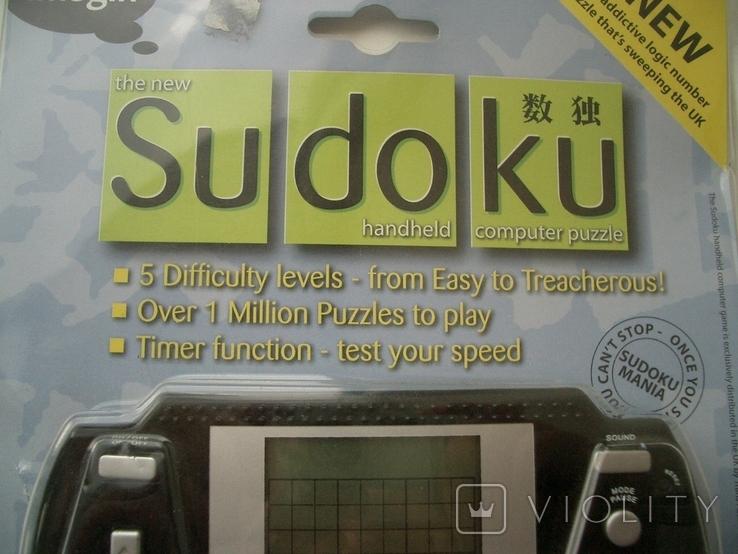 Рабочая Sudoku в упаковке,Англия, фото №3