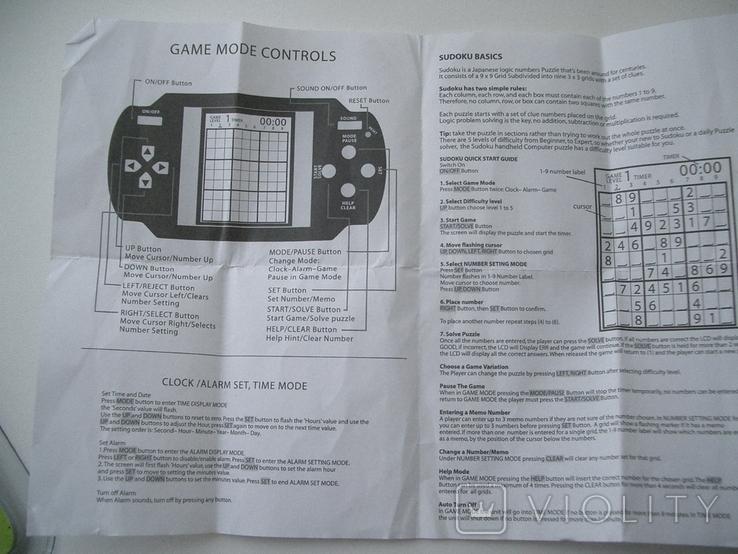 Рабочая Sudoku в упаковке,Англия, фото №4