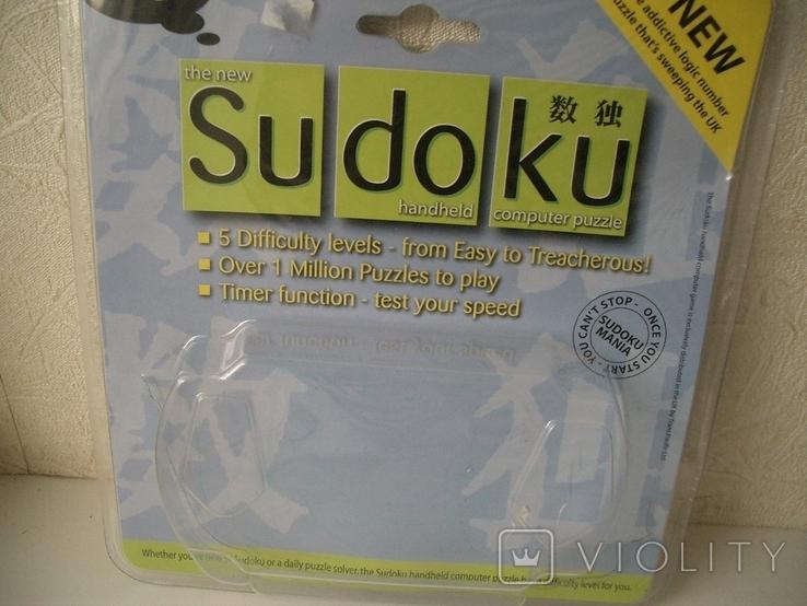 Рабочая Sudoku в упаковке,Англия, фото №10
