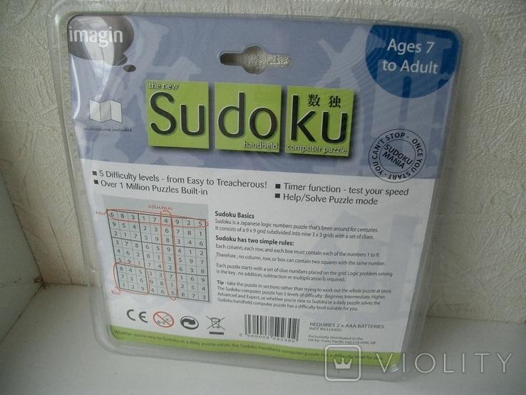 Рабочая Sudoku в упаковке,Англия, фото №12