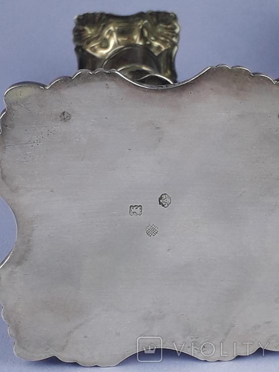 Подсвечник на одну свечу, серебро (с наполнителем), 132 гр., Великобритания, фото №10