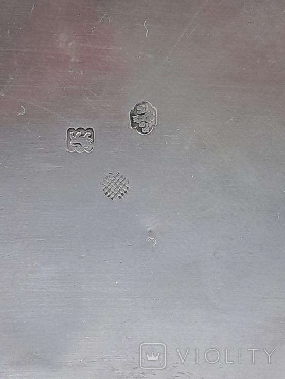 Подсвечник на одну свечу, серебро (с наполнителем), 132 гр., Великобритания, фото №11