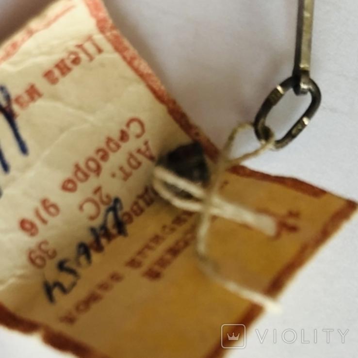 Крестик серебро 916 пробы вес1,15 гр винтаж СССР, фото №7
