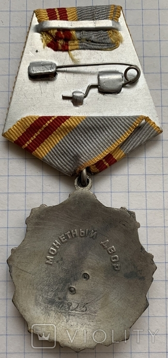 Орден Трудовая слава II степени. Копия, фото №4