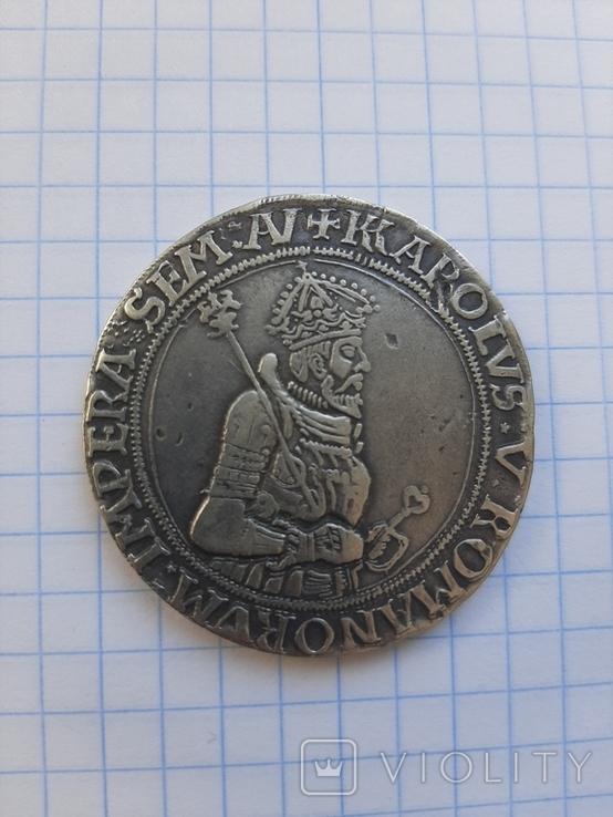 Талер Карла 1542 рік. Копия., фото №3