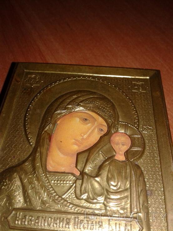 Икона Казанская БМ в докладе, фото №5