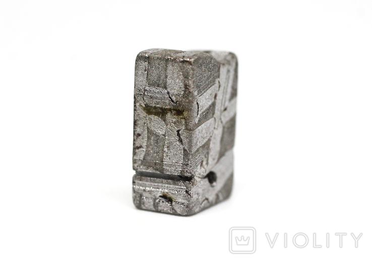 Заготовка з метеорита Seymchan, 5,8 г, із сертифікатом автентичності, фото №5