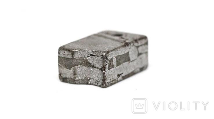Заготовка з метеорита Seymchan, 5,8 г, із сертифікатом автентичності, фото №10