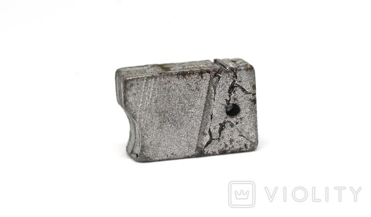 Заготовка з метеорита Seymchan, 5,8 г, із сертифікатом автентичності, фото №12
