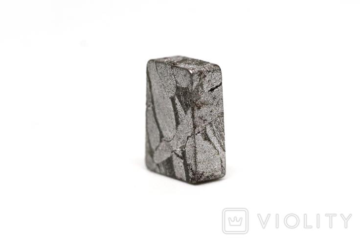 Заготовка-вставка з метеорита Seymchan, 2,1 г, із сертифікатом автентичності, фото №5