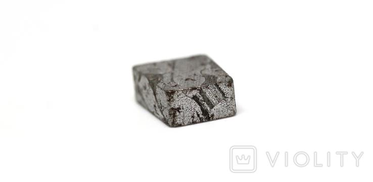 Заготовка-вставка з метеорита Seymchan, 2,1 г, із сертифікатом автентичності, фото №10