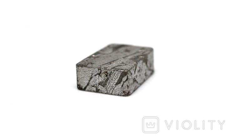 Заготовка-вставка з метеорита Seymchan, 2,1 г, із сертифікатом автентичності, фото №11