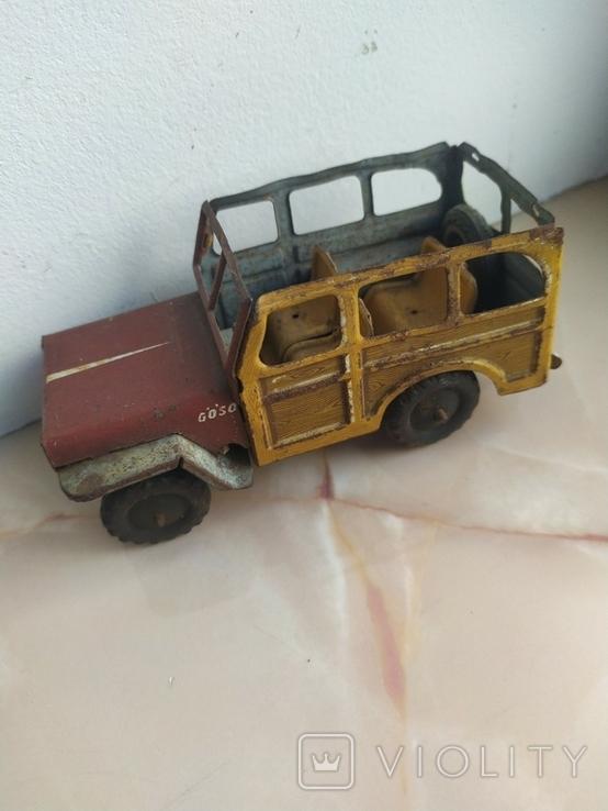 Жестяная машинка.Jeep Rural Willys.50e., фото №3