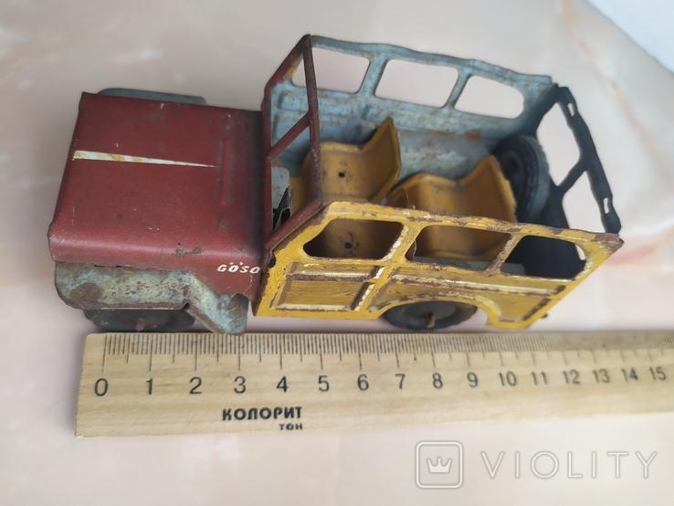 Жестяная машинка.Jeep Rural Willys.50e., фото №6