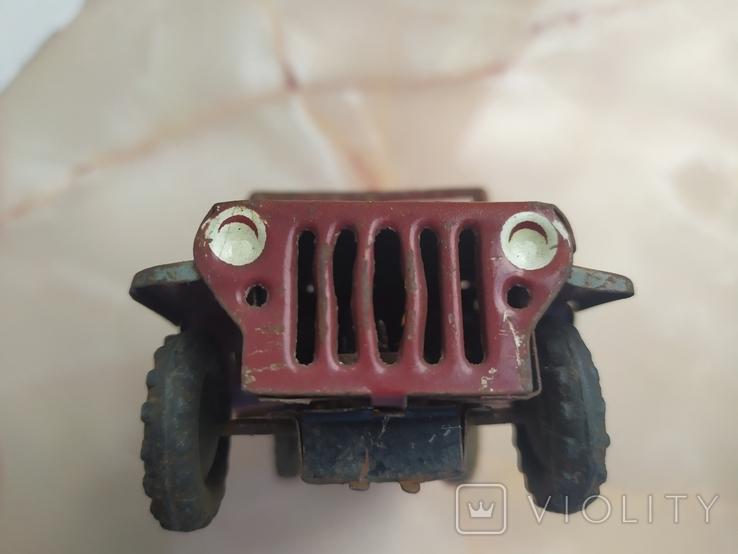 Жестяная машинка.Jeep Rural Willys.50e., фото №8