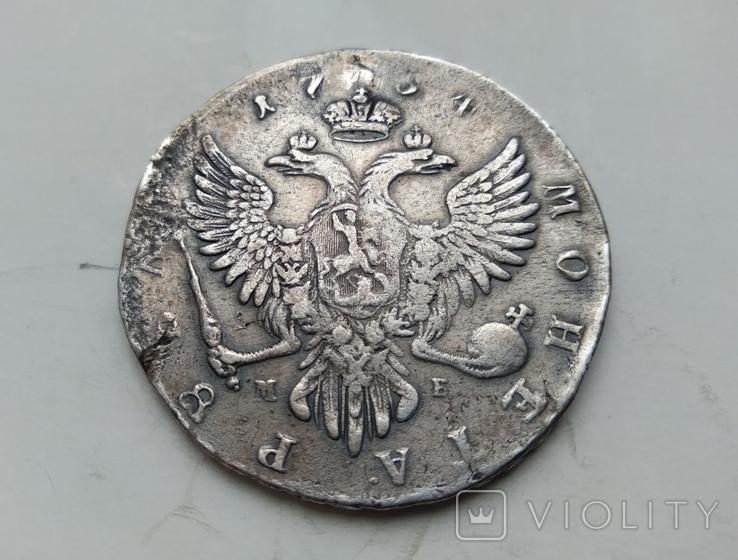 Рубль 1754, фото №3