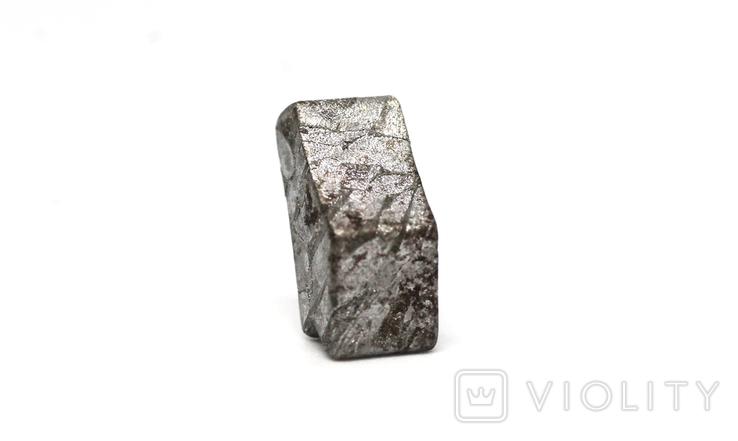 Заготовка-вставка з метеорита Seymchan, 3,4 г, із сертифікатом автентичності, фото №7
