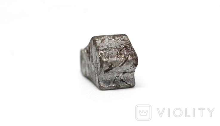 Заготовка-вставка з метеорита Seymchan, 3,4 г, із сертифікатом автентичності, фото №8