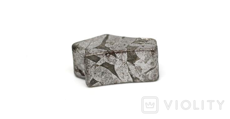 Заготовка-вставка з метеорита Seymchan, 3,4 г, із сертифікатом автентичності, фото №13